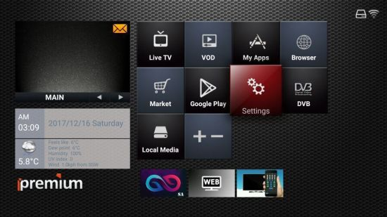 High Purpular Arabic Android IPTV Box with Free Apps and VOD pictures & photos