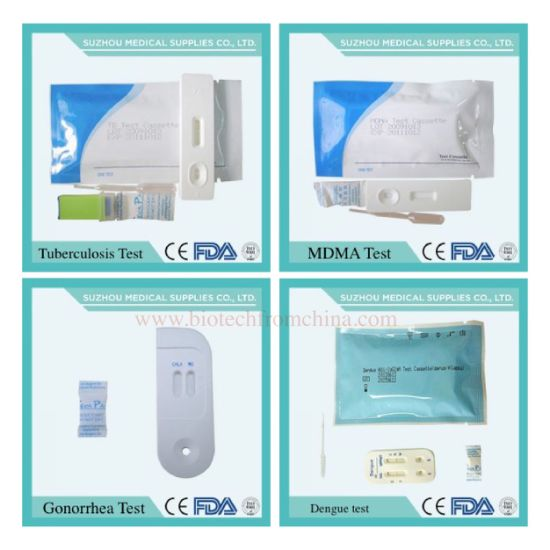 Home Test for HIV, Pregnancy, HAV/HBV/Hev, Gonorrhea, Malaria, Std Dengue, Alcohol, Tb, Doa pictures & photos