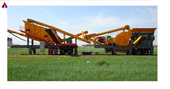 Portable Jaw Crusher for Construction Waste Crushing