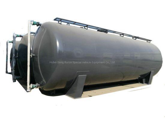 HCl Acid Storage Tank 10000 USG-30000USG Lined PE Suitable for Acid Storage Sulphuric Acid