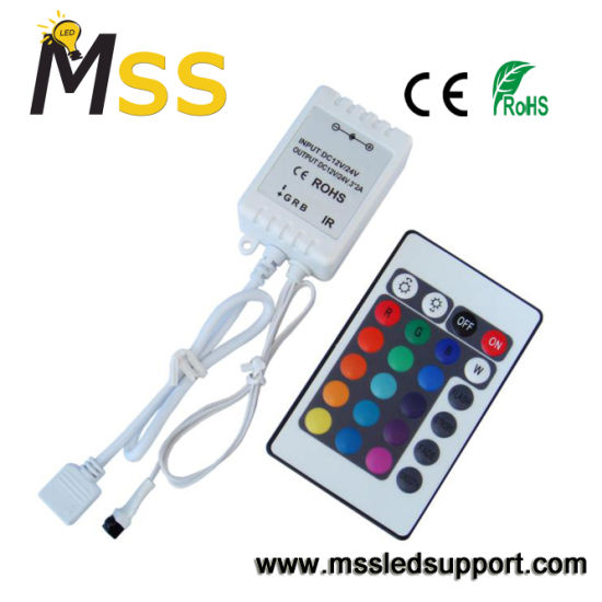 china dc5 24v mini rf remote led light controller rgb led controller