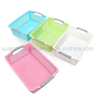 OEM Home Plastic Clothes Sundry Storage Basket pictures & photos