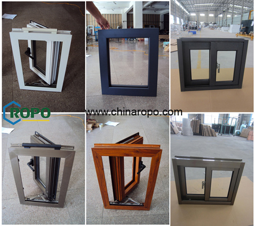 High Quality Aluminum Sliding Window with Screen pictures & photos