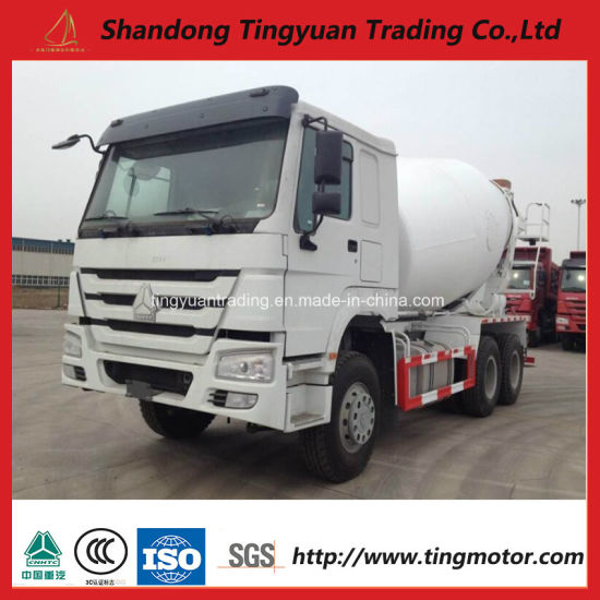 China Sinotruk HOWO Concrete Mixer Truck with Best Price - China ...
