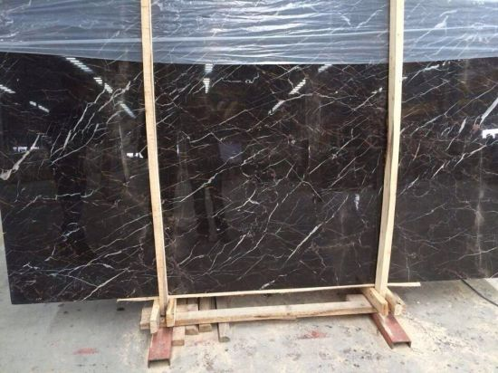 Popular Chinese Drak Brown Marble pictures & photos