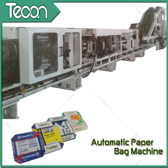 High-Speed Multiwall Bottom-Pasted Paper Bag Production Line (ZT9804 & HD4913) pictures & photos