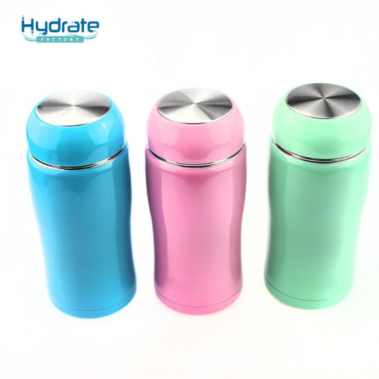 42c0be9746 Big Tripe Type Double Wall Stainless Steel Insulated Cute Water Bottle