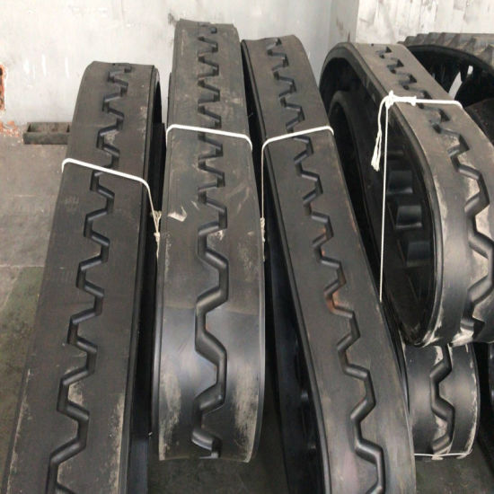 "Blaw Knox PF4410 Rubber Tracks 14""*6""*46 for Road Construction Machinery pictures & photos"