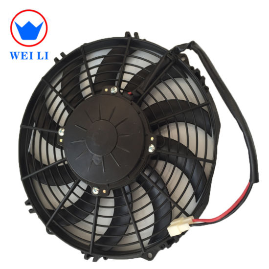 High Rpm Refrigerated 24V DC 10'' Condenser Fan