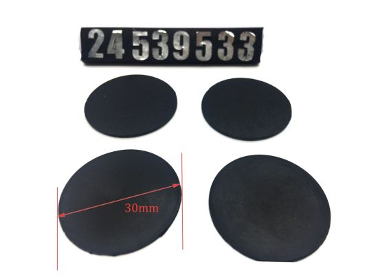 China Round Rubber Gasket and Rubber Blanket - China Rubber Product ...
