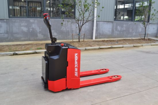 Mima Electric Forklift Pallet Truck with High Quality pictures & photos