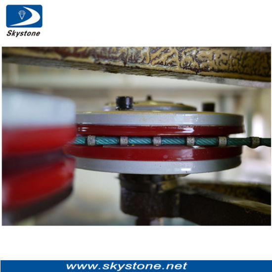 Diamond Single Wire Saw for Granite Block Dressing pictures & photos