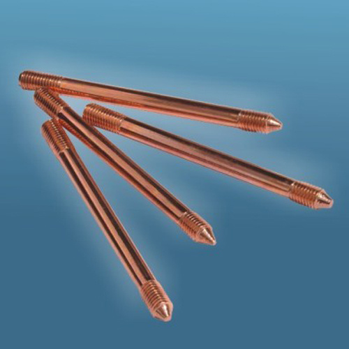 Copper Coated Steel Earth Rod Tensile Strength More Than 650n/Cm² pictures & photos