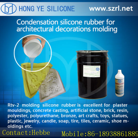 Casting Plaster Gypsum Mold Tin Silicones Rubber with Catalyst