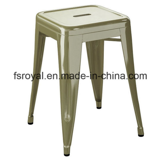 Wholesale Commercial Used Restaurant Canteen Dining Furniture Backless Stool Chair