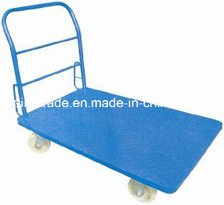 Storage Hand Push Cart Platform Truck/Hand Cart pictures & photos