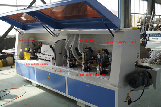 Edge Bander with Pre-Milling Automatic Wood Edge Banding Machine pictures & photos