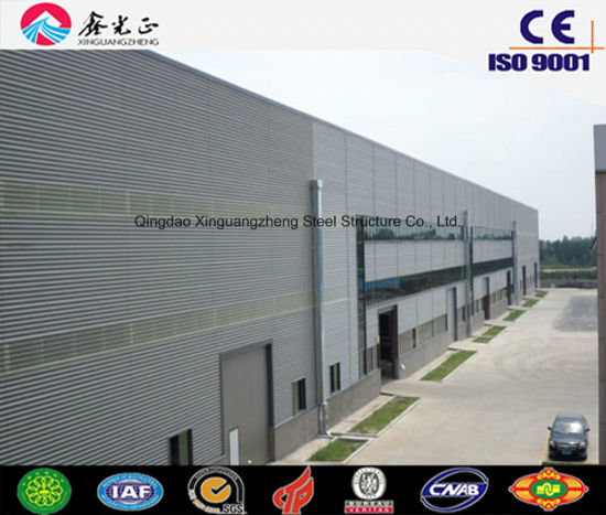 Prefabricated Structural Steel Structure for Building Factory/Warehouse/Workshop