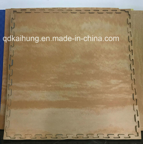 2.5cm Interlocking Wood Graintaekwondo Floor Mat for Wholesale