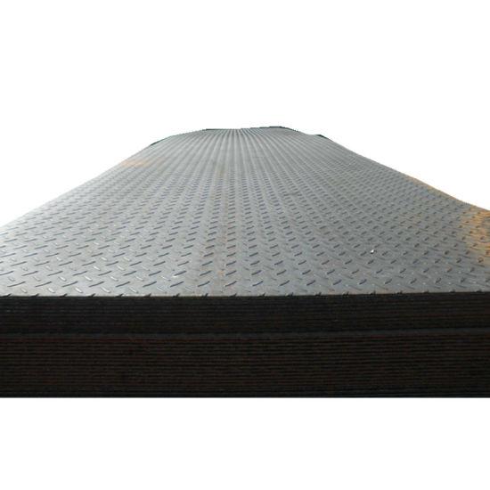 Anti-Slip ASTM A36 Hr Mild Carbon Non-Slip Checkered Steel Plate