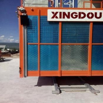 Schneider Motor and Vvvf Drive Building Construction Hoist / Lift/ Elevator