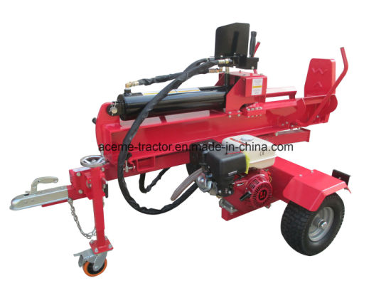 China 35t Petrol Engine Log Splitter European Design