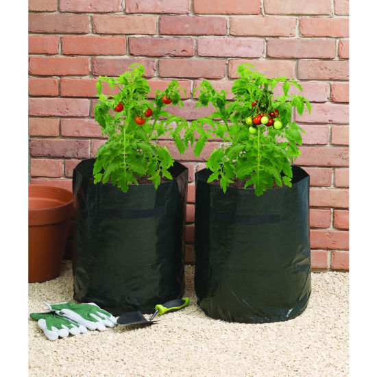 30-60L PE Woven Anti-UV Garden Planting Bag pictures & photos
