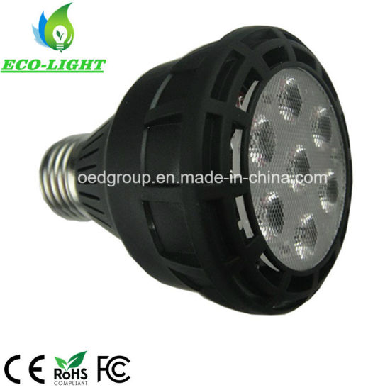 LED Spot Light for Indoors Lighting G12 E27 Base Black Case PAR20 20W pictures & photos