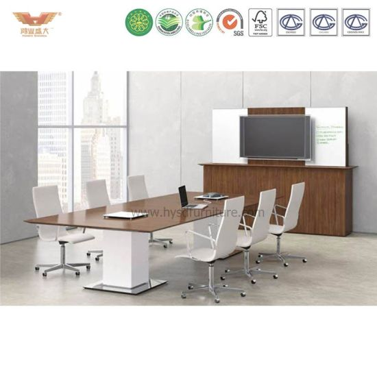 China Simple Modular Wooden Conference Systems Meeting Tables - Modular meeting table