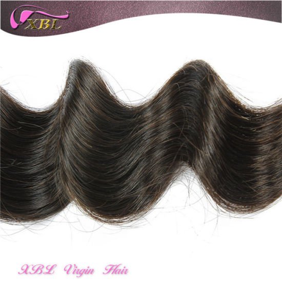 Natural Raw Natural Color Unprocessed Virgin Indian Human Hair pictures & photos