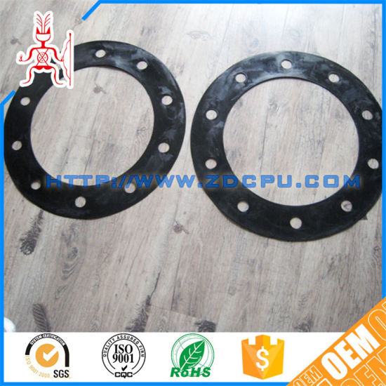China Temperature Silicone Mechanical Seal Flat Rubber O Ring Flange ...