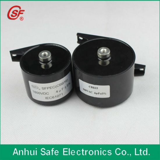 China 1200VDC 3UF Cbb15 Capacitor for Sale - China AC Motor