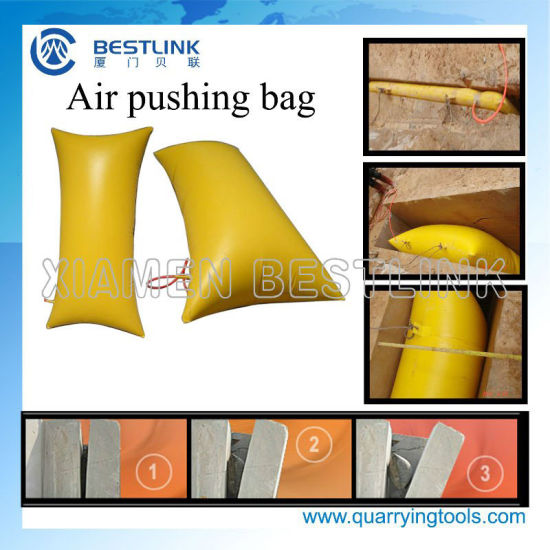 Hot Sale Air Pushing Bags for Separating The Marble and Granite pictures & photos