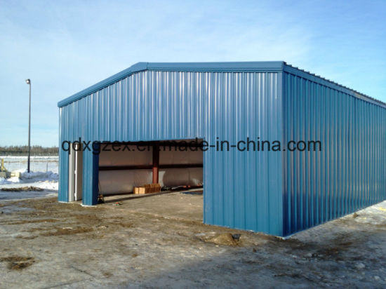 Prefabricated Metal Shed, Light Steel Structure Shed
