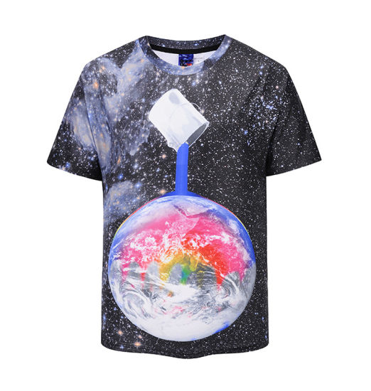 1490ed877ae 3D Sublimation Custom Customized Fashion Clothing Wholesale Plain Printing Printed  Apparel 100% Cotton Bamboo Polyester Men′s Golf T-Shirts