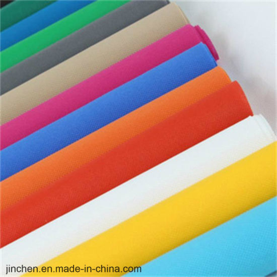 PP Spunbond Waterproof Nonwoven Tablecloth Fabric pictures & photos