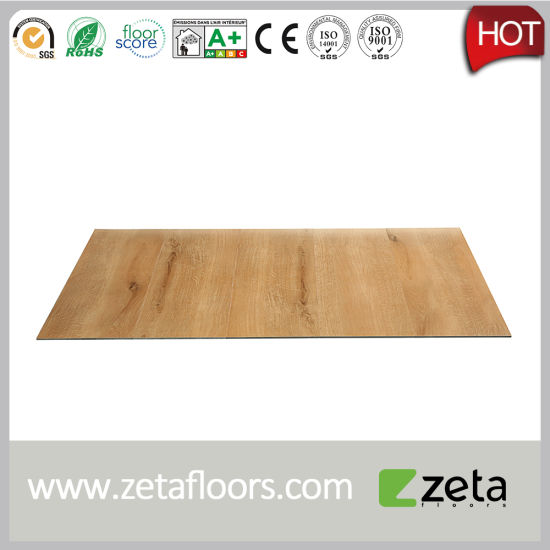 China Plastic Flooring Type And Pvc Material Vinyl Click Tile