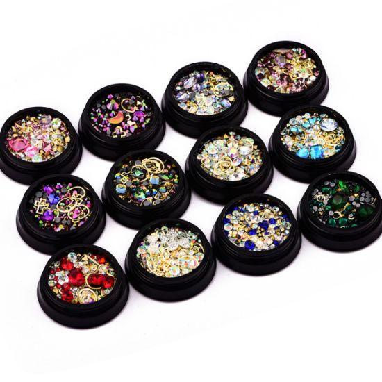 Flat Back Rhinestones Crystal Stones Diamonds for Nail Art Decoration