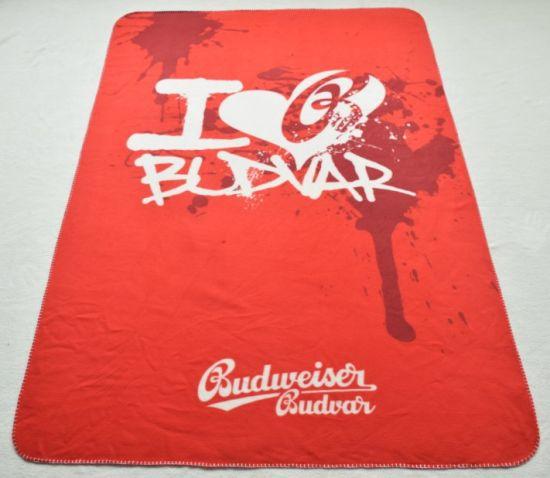 Custom Printed Polyester Fleece Blanket