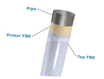 Steel Pipe with FBE Anti Corrosion Epoxy Powder Coating