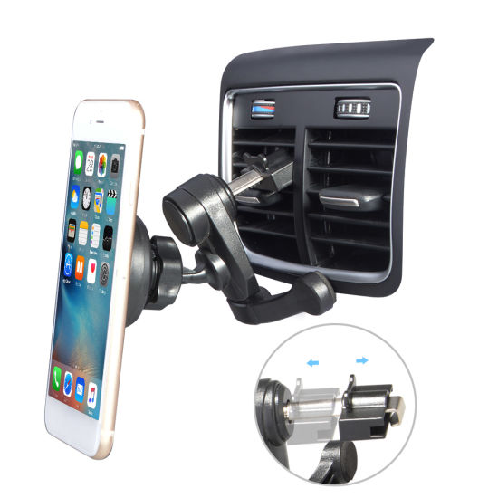 360 Car Magnetic Air Vent Mount Mobile Cell Phone Holder Stand Grip Cradle