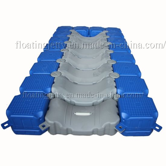Marine HDPE Plastic Floating Pontoon for Jet Ski Floating Dock