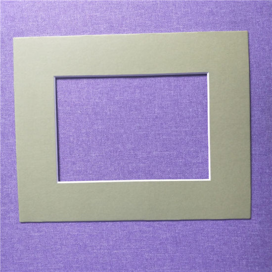 China 8inch10inch Paper Matboard For Aluminum Photo Frames China