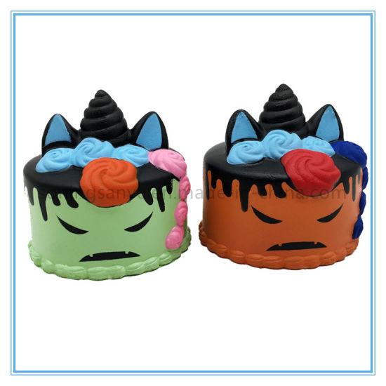 DTY0087 Halloween Decorative Props Squishies Kids Toy