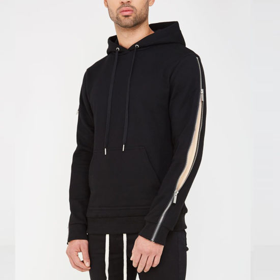 Long Zip Sleeve Hoodie & Zip Pocket Jogger OEM Tracksuit pictures & photos