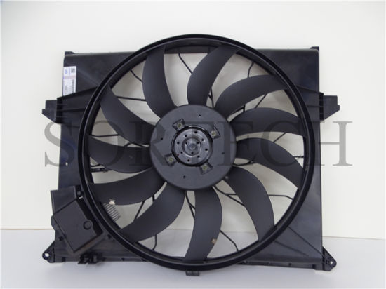 Mercedes-Benz Spare Parts for W203 Radiator Cooling Fan Assembly 2035000293