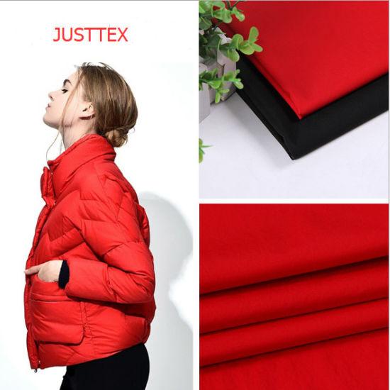 100% Polyester Pongee Waterproof Down Jacket Fabric