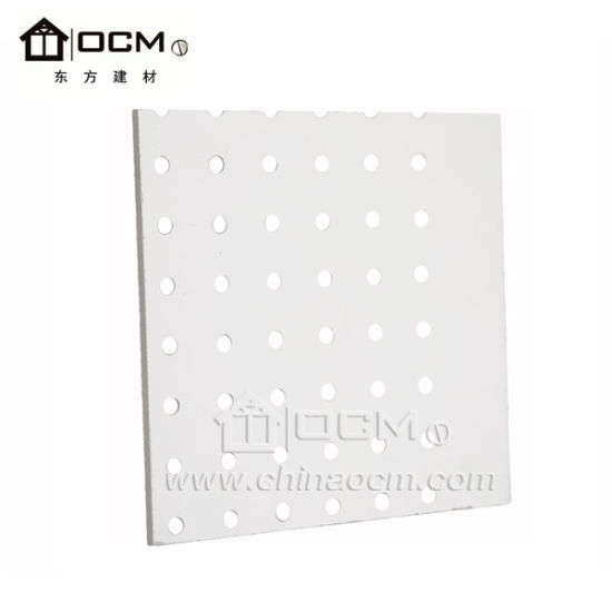 Anti Fire Sound Insulation Perforated MGO Ceiling For Interior Wall