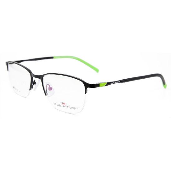 d525bc251dc Wholesale New Fashion Design Halfrim Glasses Frames with Metal Optical  Frames for Men. Get Latest Price
