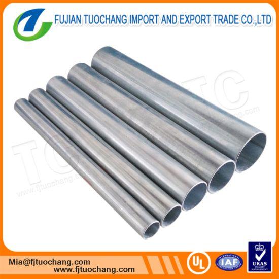 China Electrical Metallic Pre Galvanized Welding Wire EMT Conduit ...